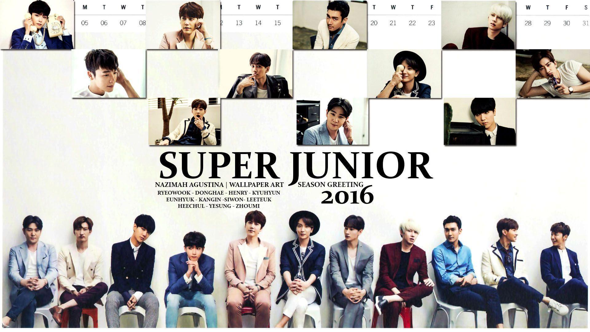 Super junior 2016 wallpapers wallpaper cave super junior 2016 season greeting wallpaper by nazimah agustina m4hsunfo