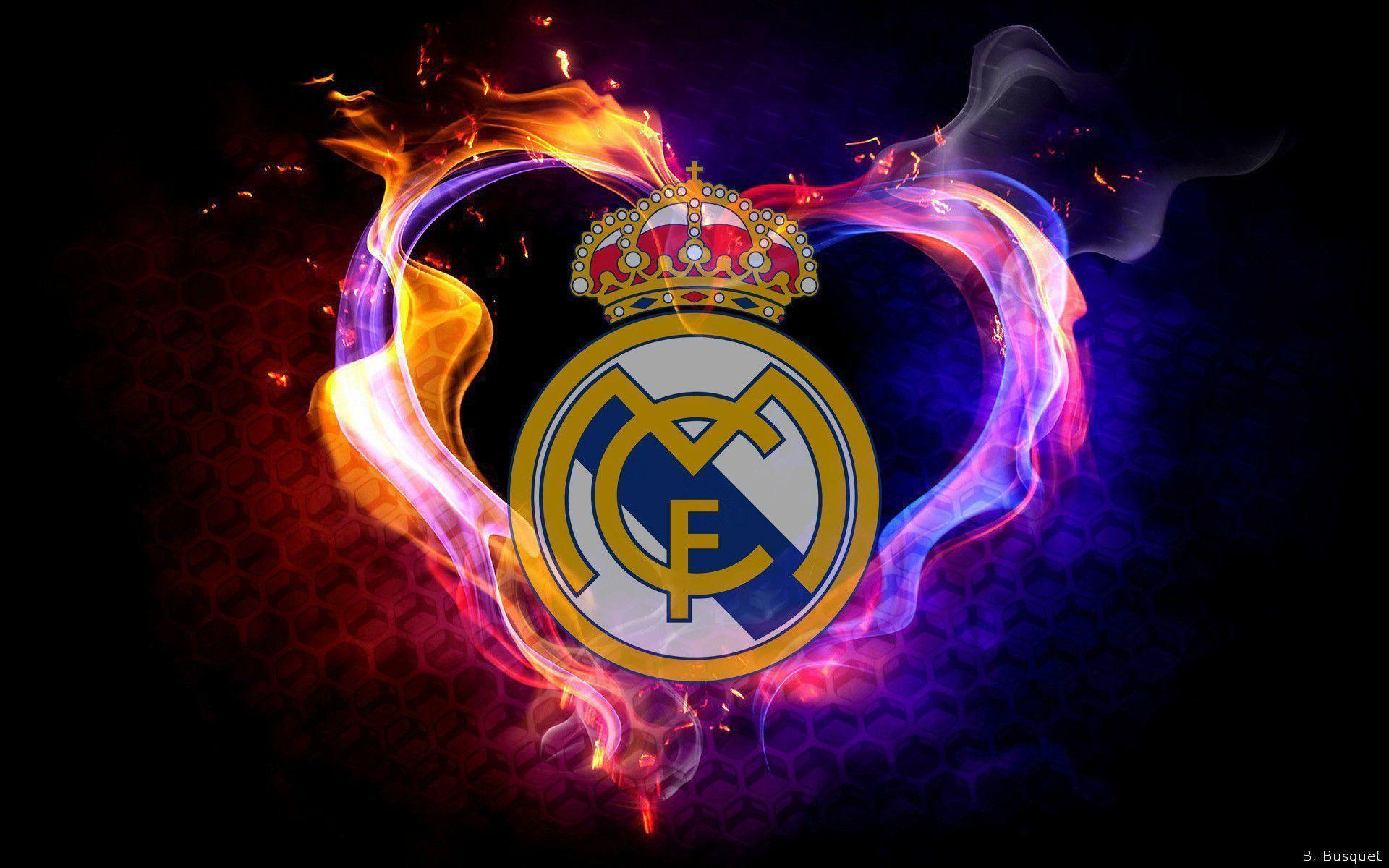 Art Real Madrid Logo Wallpaper #29431 Wallpaper | Download HD ...