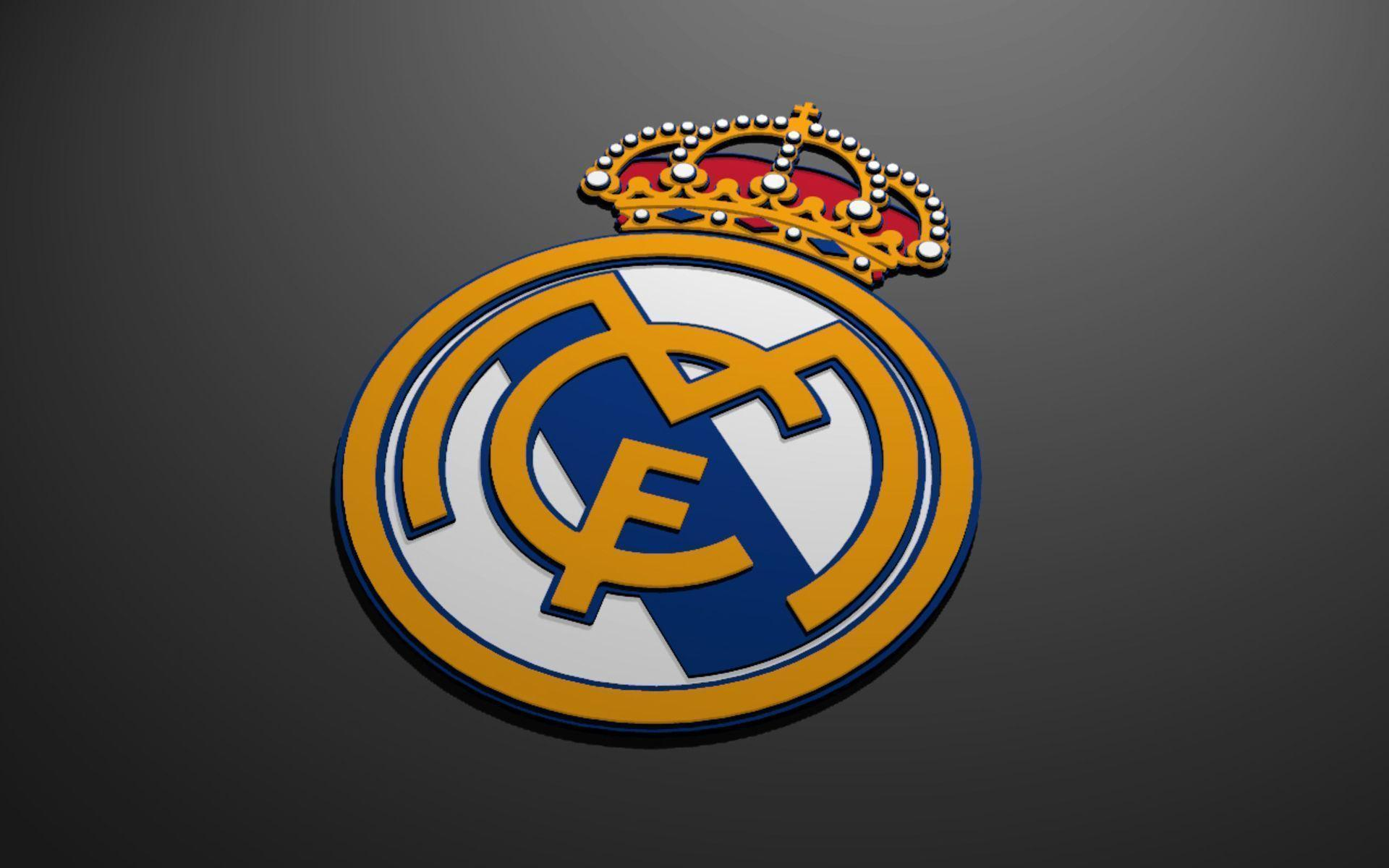 Real Madrid Logo 2016 Football Club | Wallpapers, Backgrounds ...