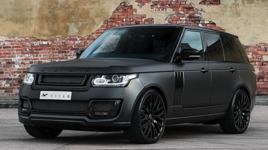 Black Range Rover Car Wallpaper