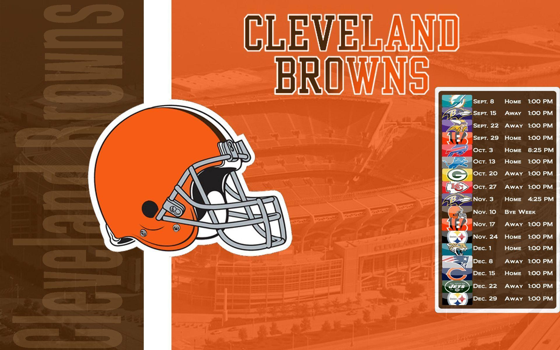 cleveland browns schedule 2016 wallpapers wallpaper cave