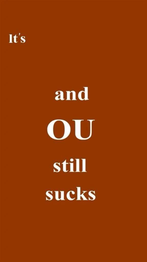 OU Sucks iPhone Wallpapers