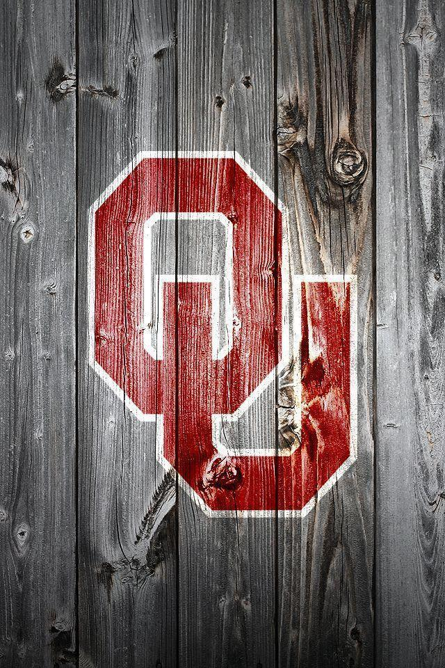 iPhone Wallpaper: OU on Wood – From the King&Pen