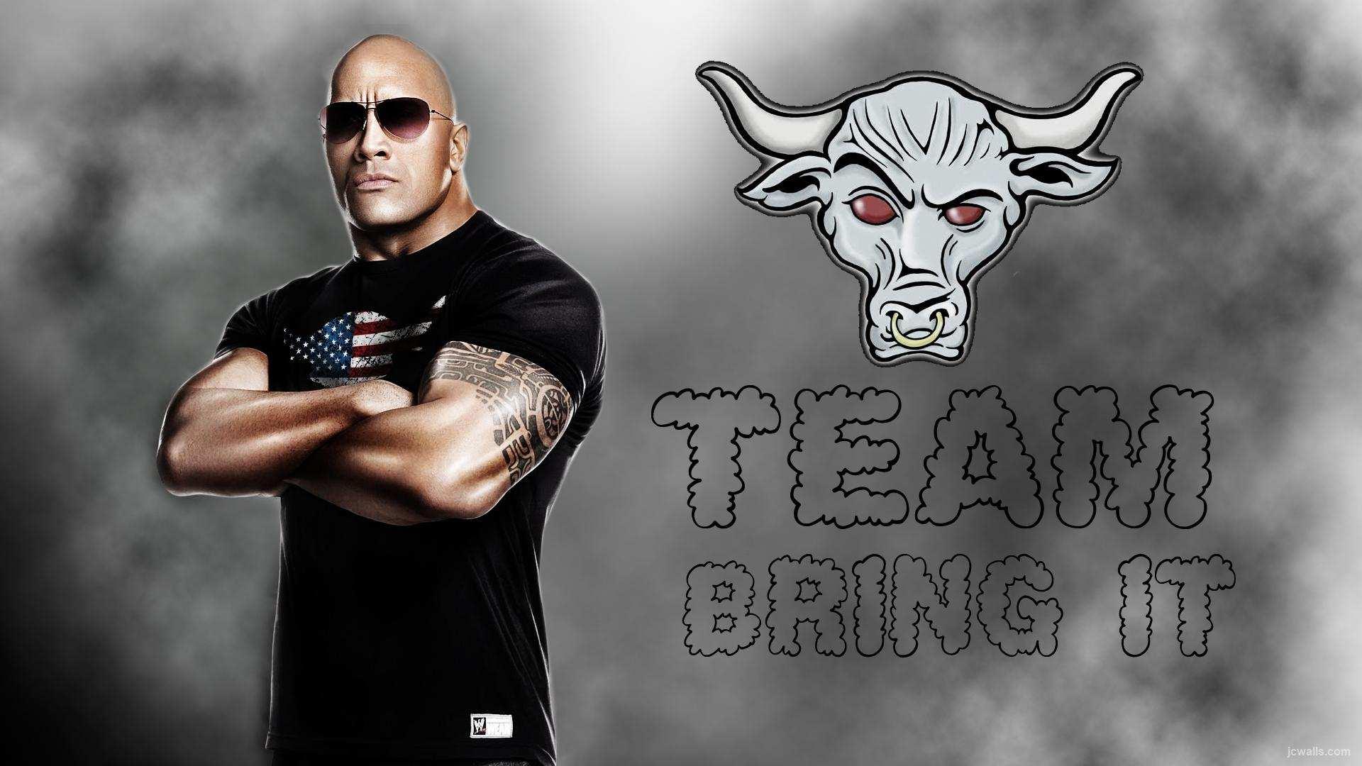 WWE The Rock Dwayne Johnson HD Wallpapers 2