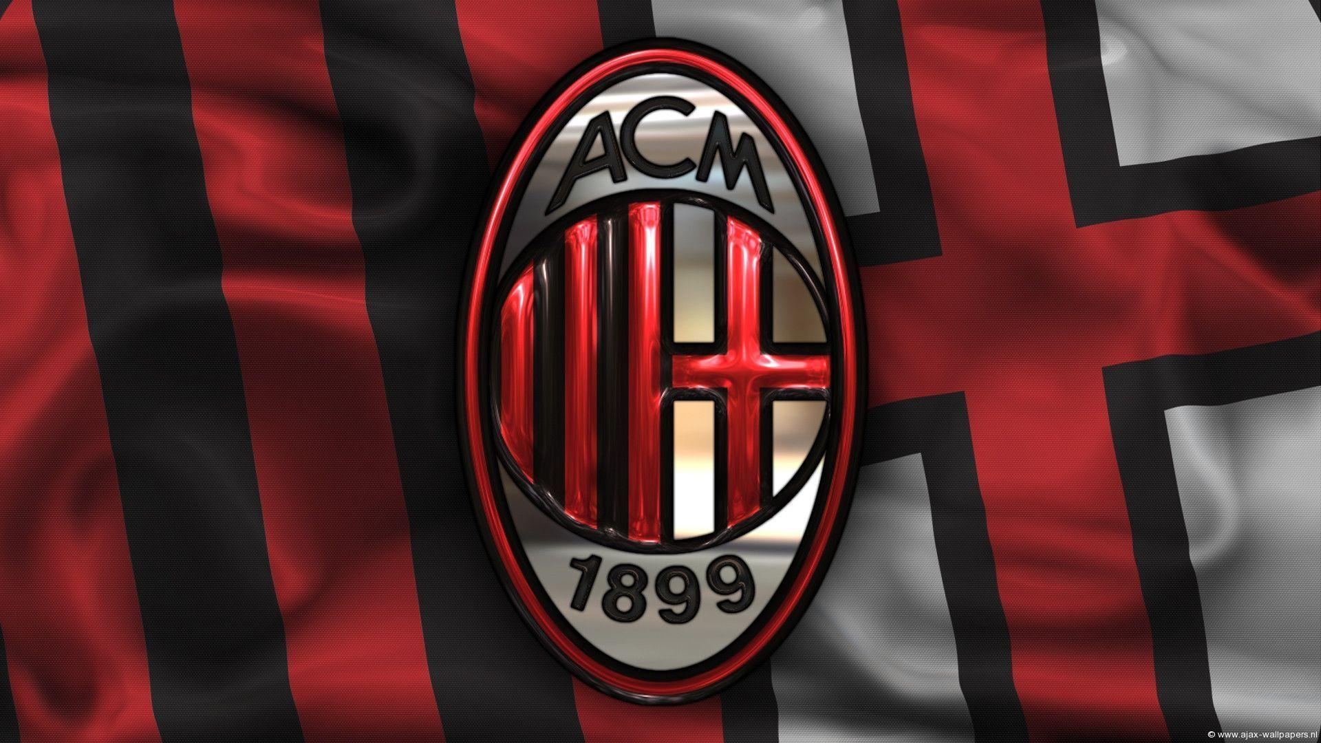 Ac Milan Awesome Logo Hd Wallpapers Wallpapers