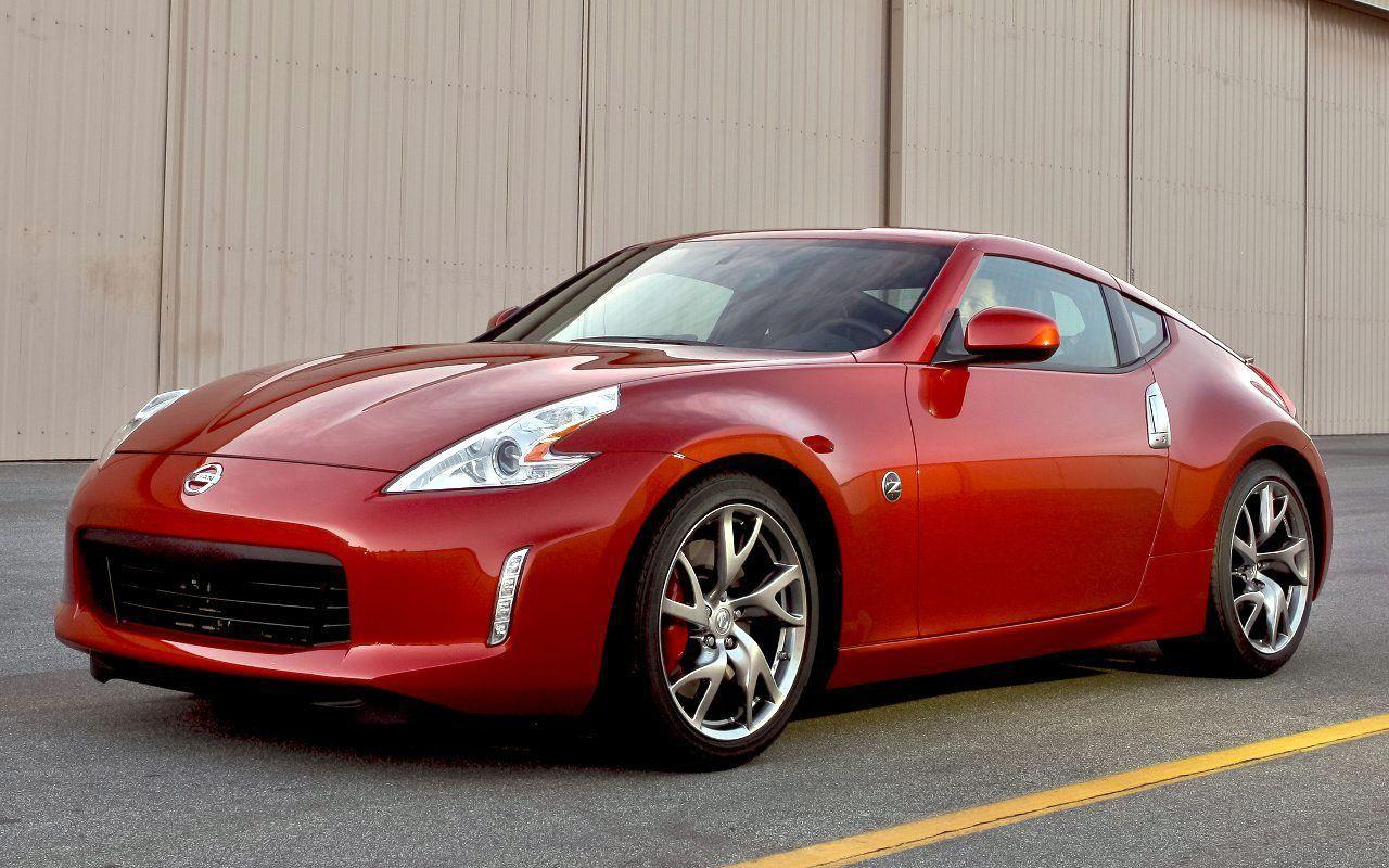 Red Nissan 370z Wallpaper