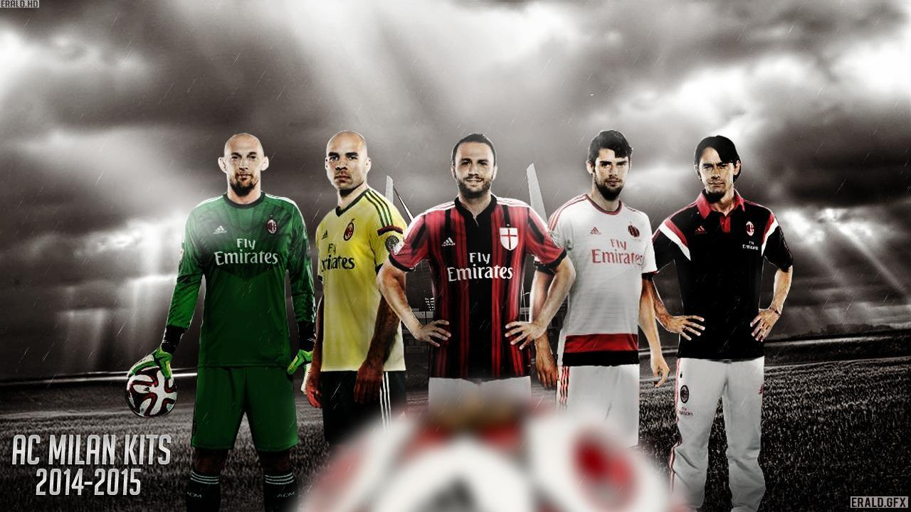 Ac Milan 2014 2015 Adidas Home Kit Jersey Wallpapers Wide Or Hd