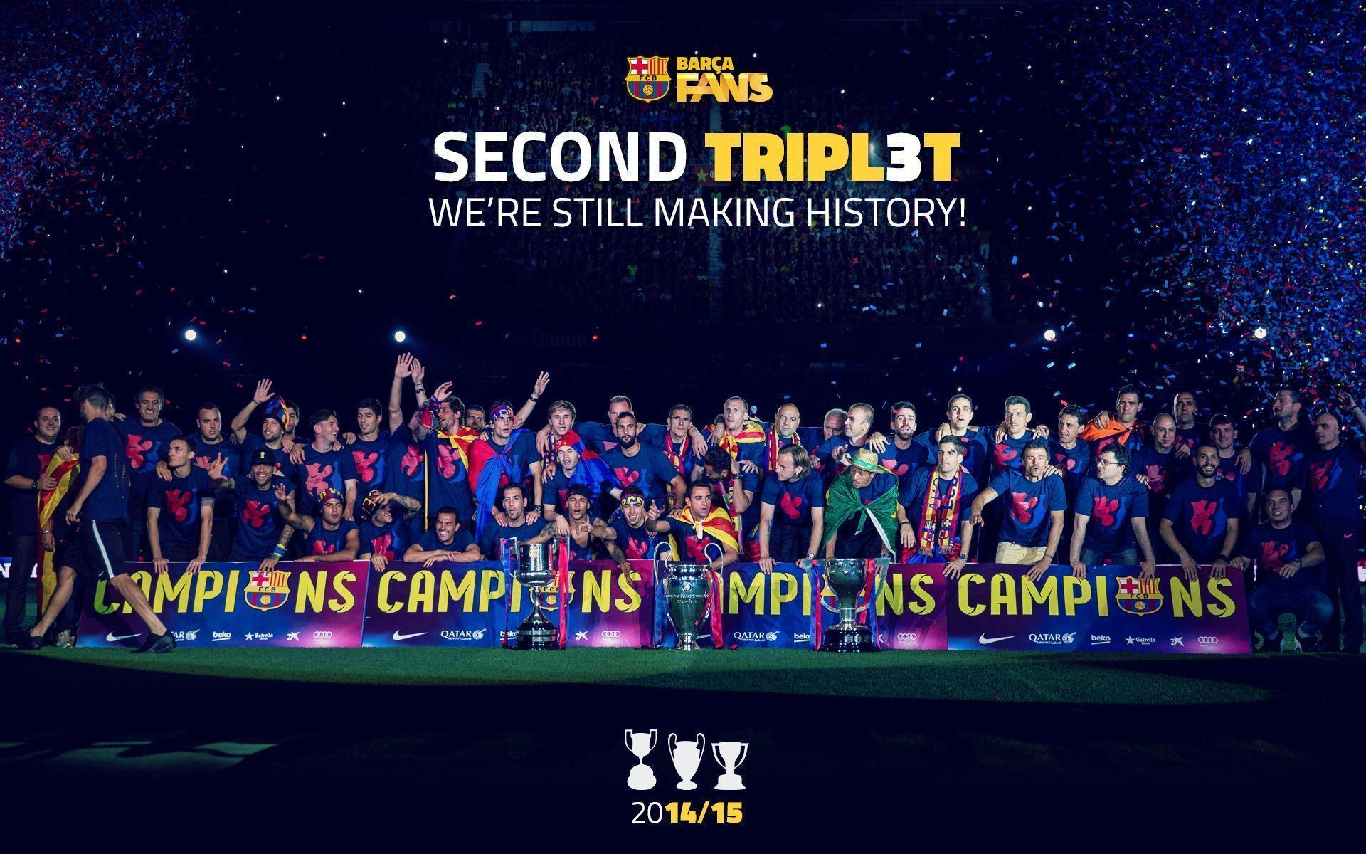Fc Barcelona Wallpapers 2016 Wallpaper Cave