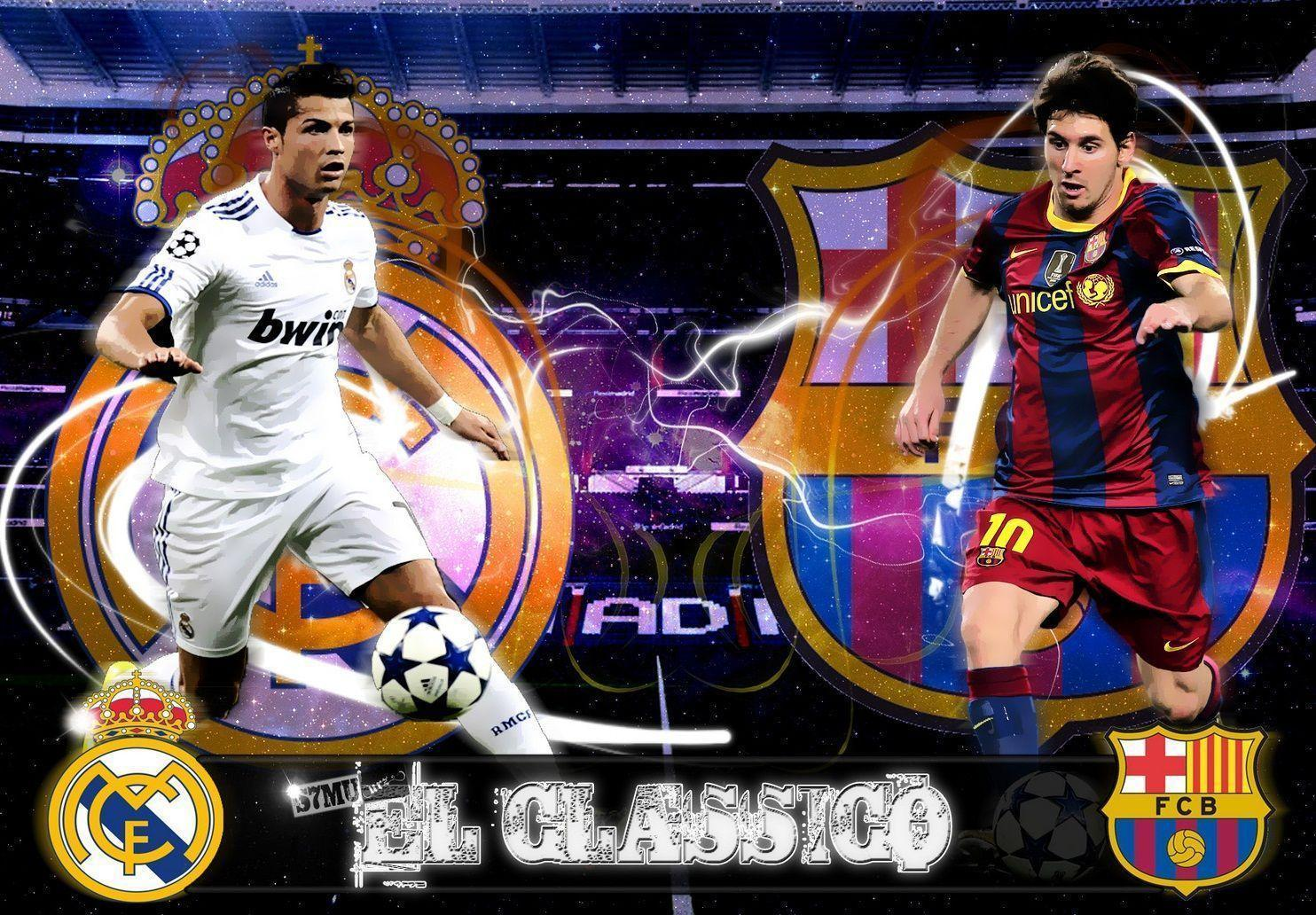 cristiano ronaldo vs lionel messi 2016 wallpapers