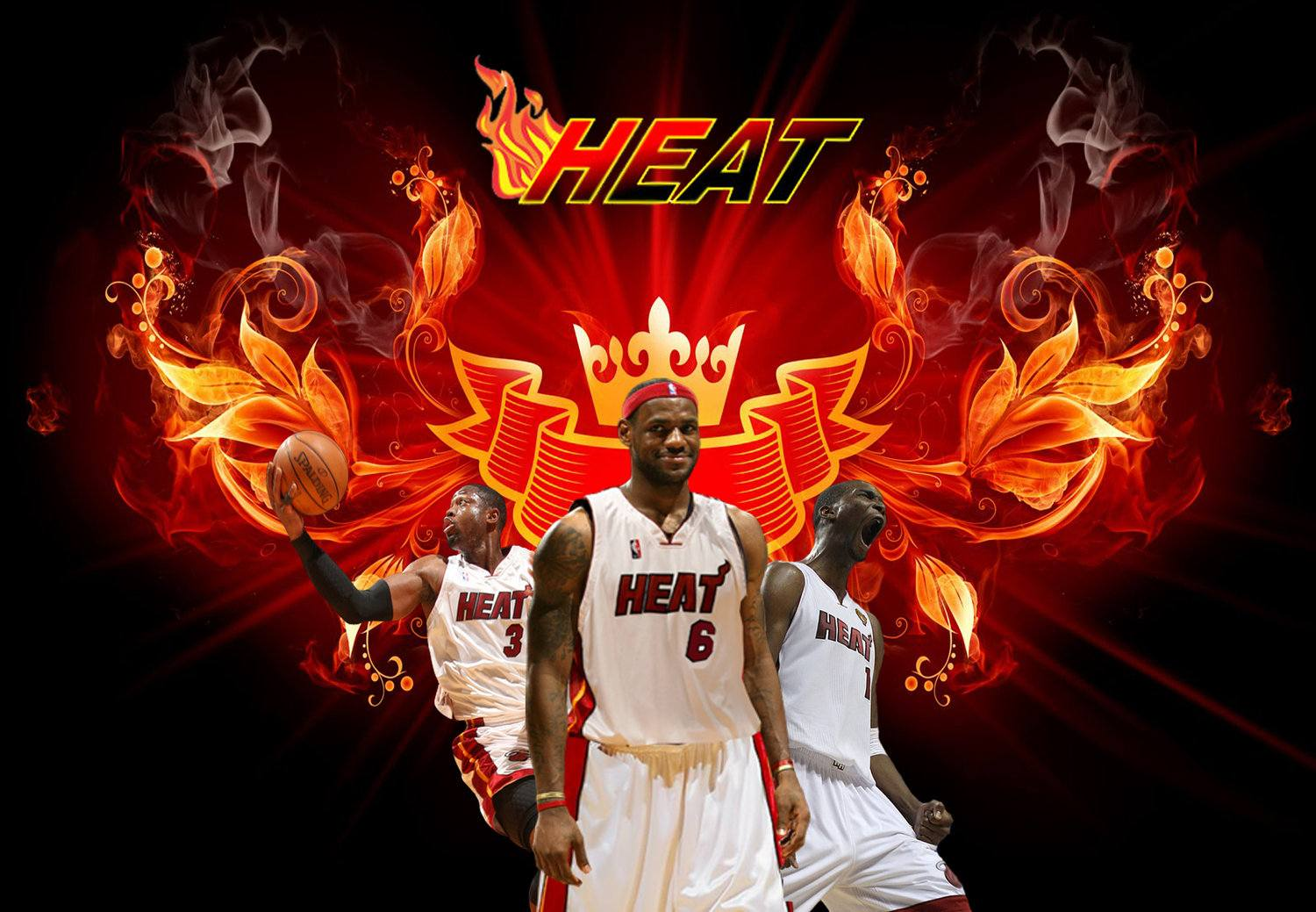 Miami heat wallpapers hd 2016 wallpaper cave - Miami heat wallpaper android download ...