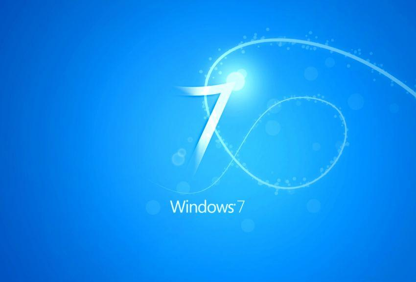 Blue Windows 7 wallpapers HD 2016 in Windows