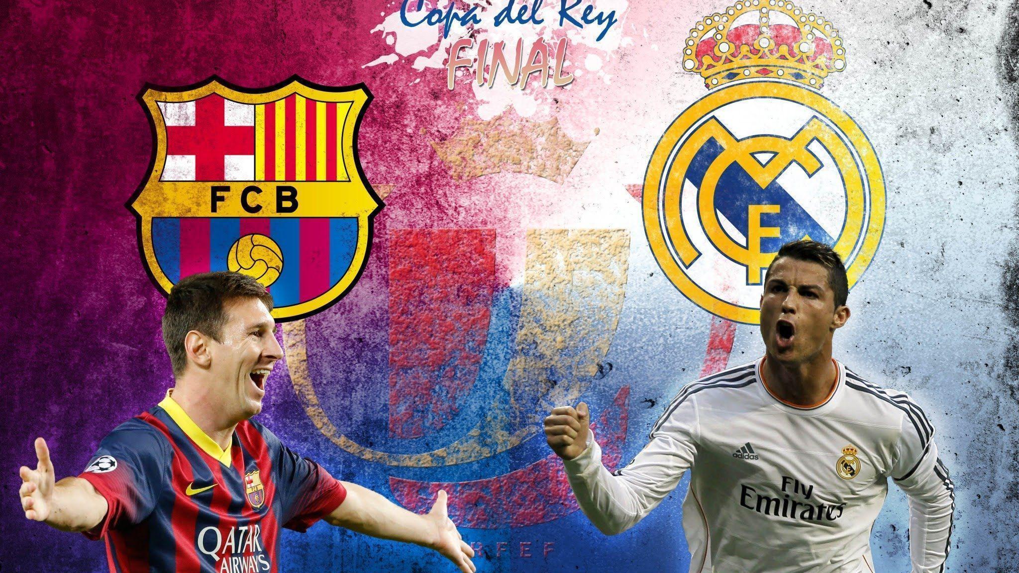 Real Madrid Vs Barcelona Goals 2014