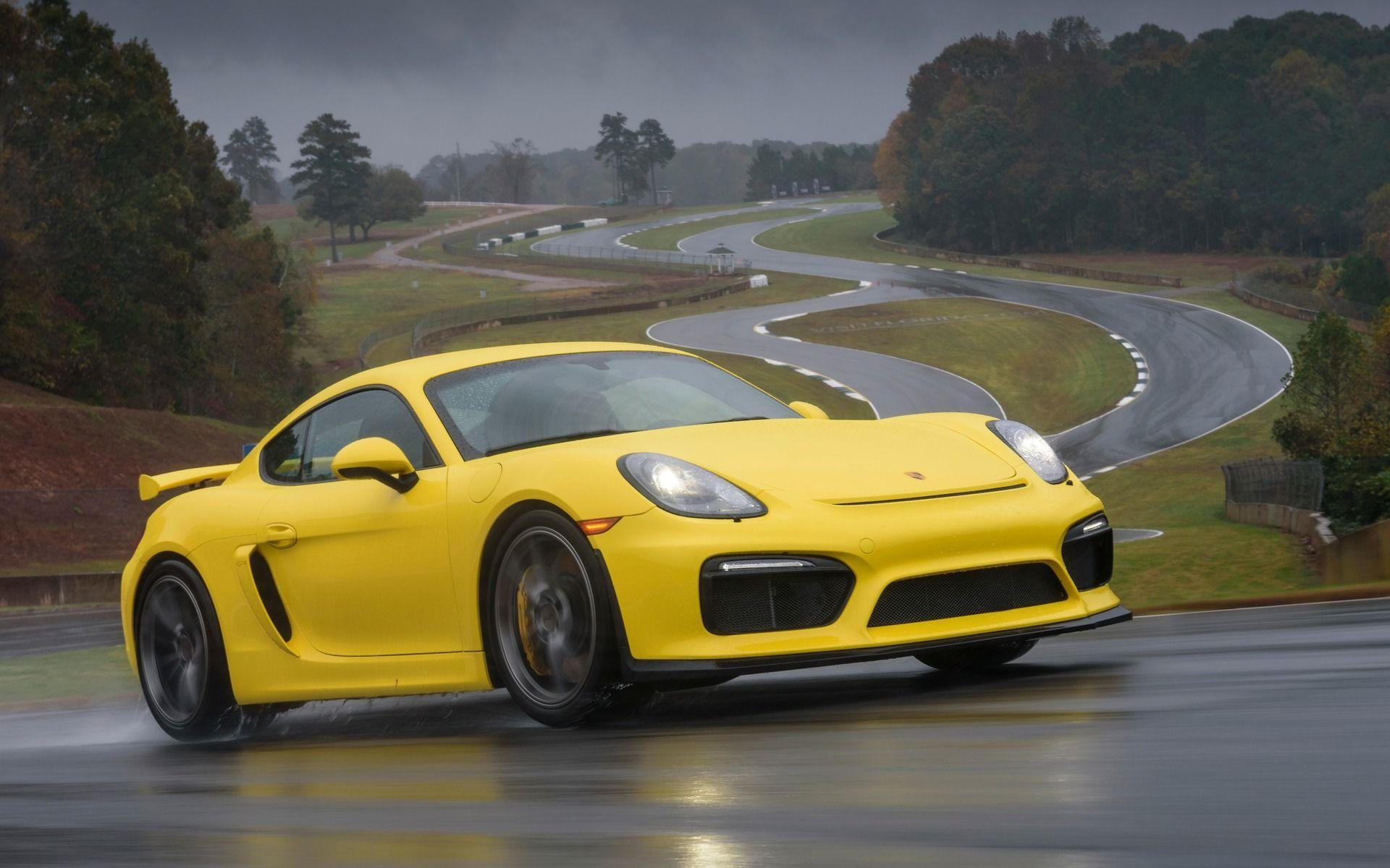 Download 2016 Porsche Cayman GT4 Coupe Wallpapers For Windows