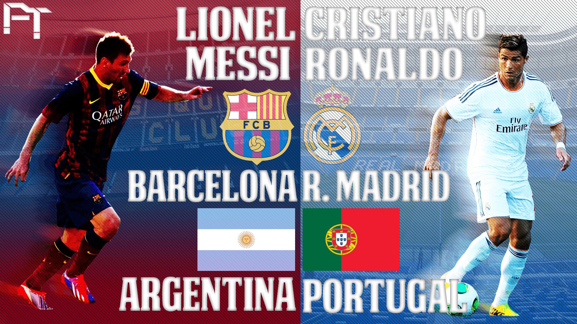Ronaldo Vs Messi Wallpaper 2014 C Ronaldo Vs Me...