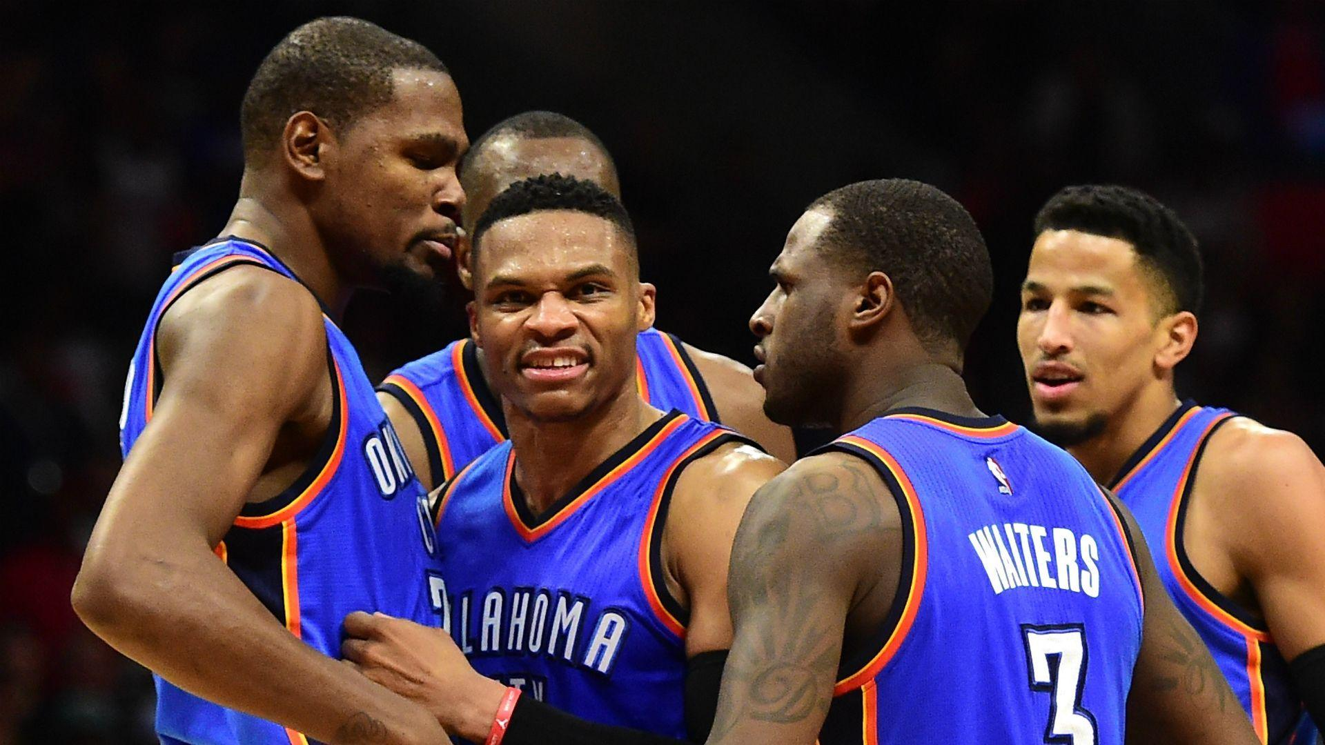 Russell Westbrook Ignores Questions About Kevin Durant and