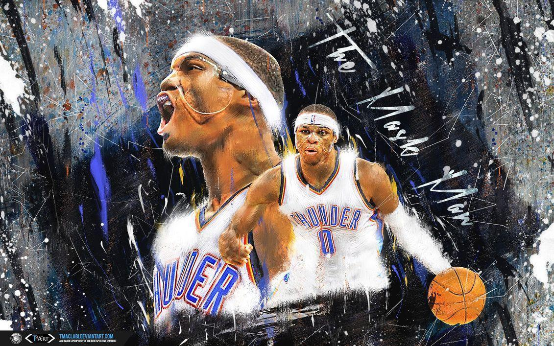 kevin durant and russell westbrook wallpapers 2016