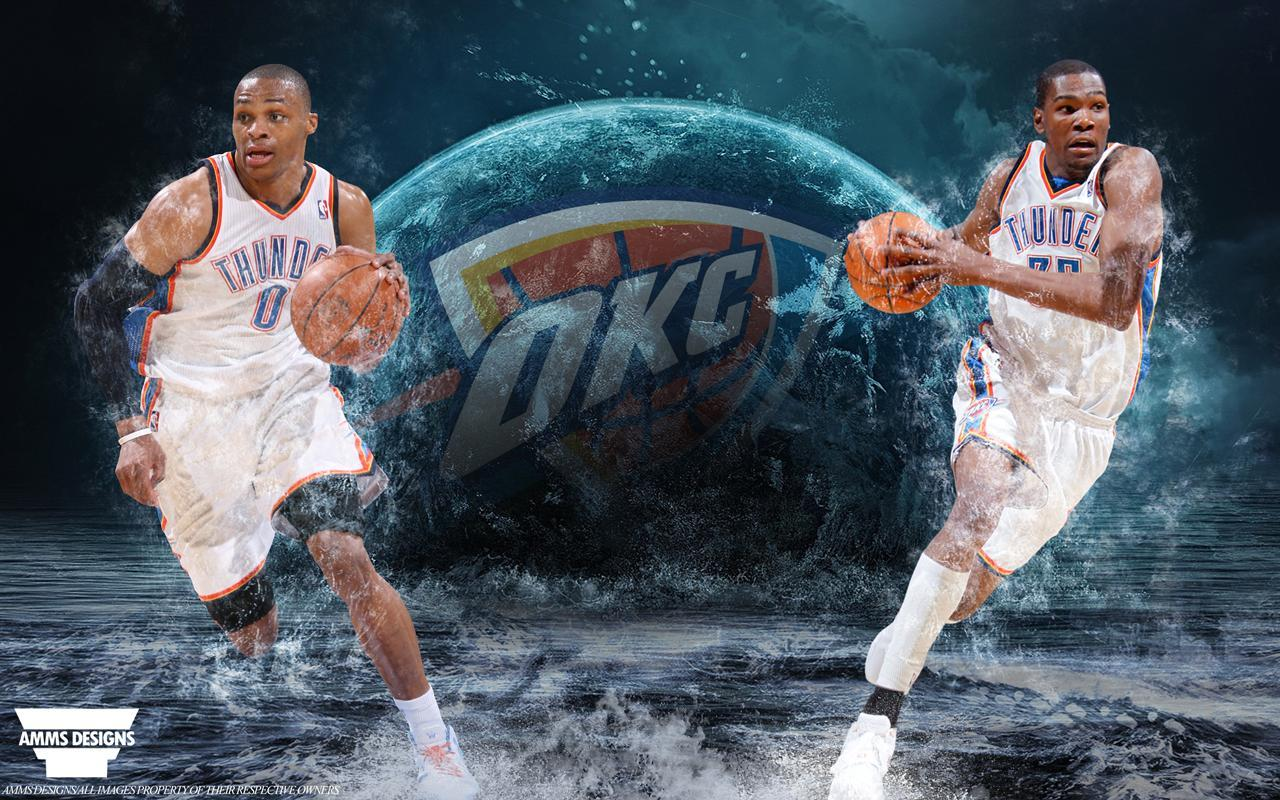Russell Westbrook Cars >> Kevin Durant And Russell Westbrook 2016 Wallpapers ...