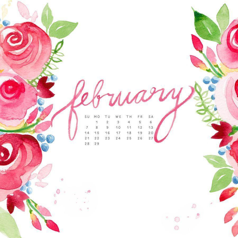 Calendar Wallpaper Feb : Desktop wallpapers calendar february wallpaper cave