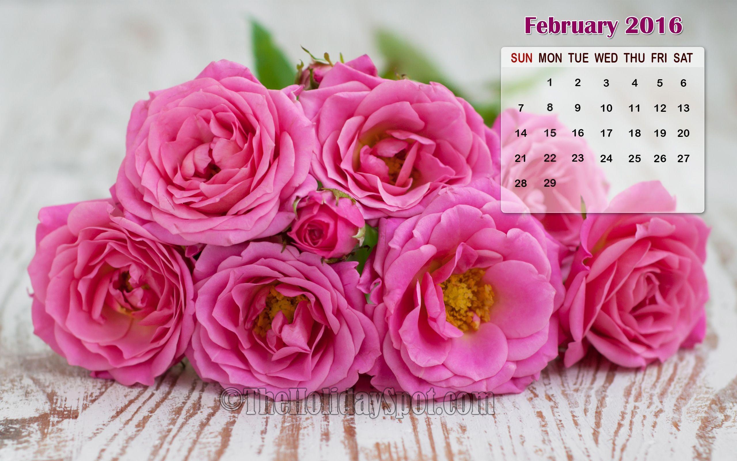 ... Backgrounds Desktop wallpapers calendar february 2016 - wallpaper cave