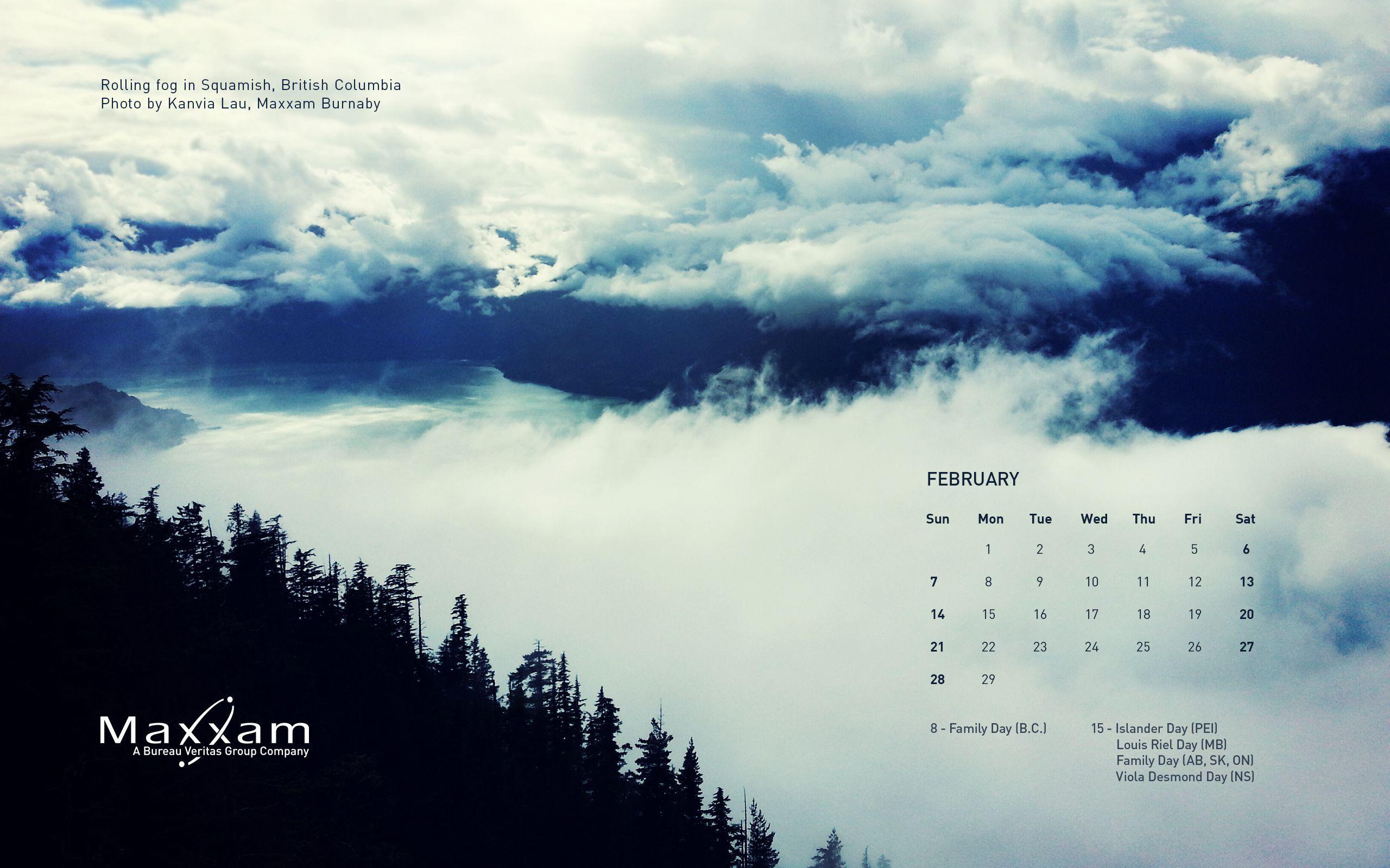 desktop wallpapers calendar february 2016 wallpaper cave