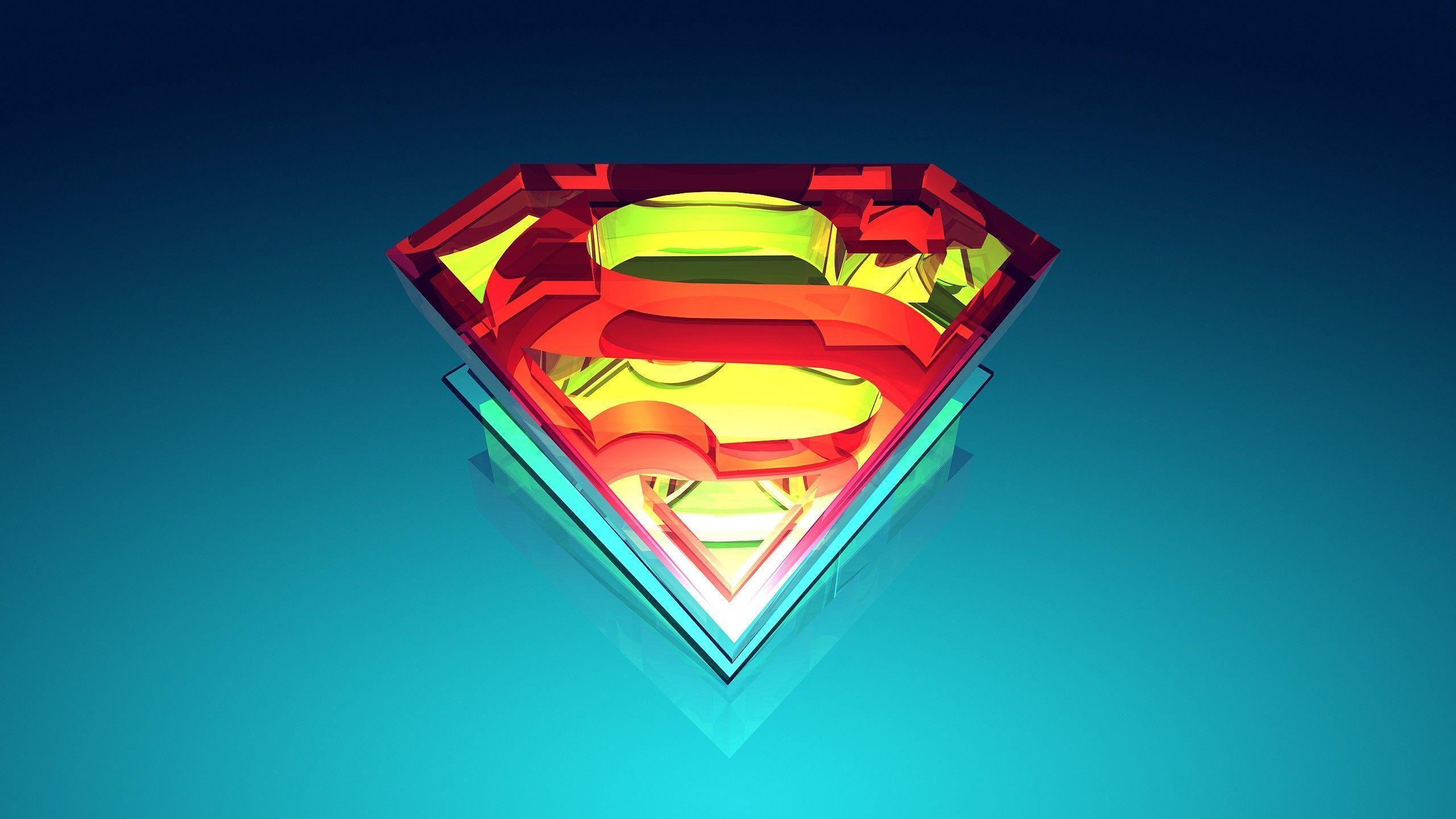 Logo Superman Wallpaper HD Free Download | Wallpapers, Backgrounds ...