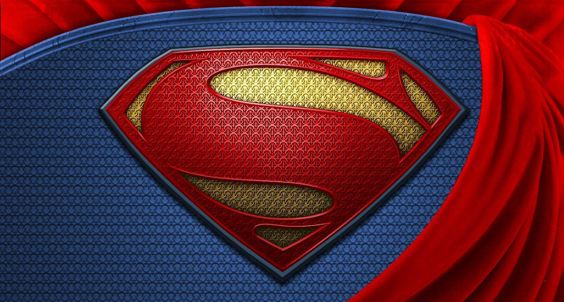 Superman Logo Ipad Background Free Download | Wallpapers ...