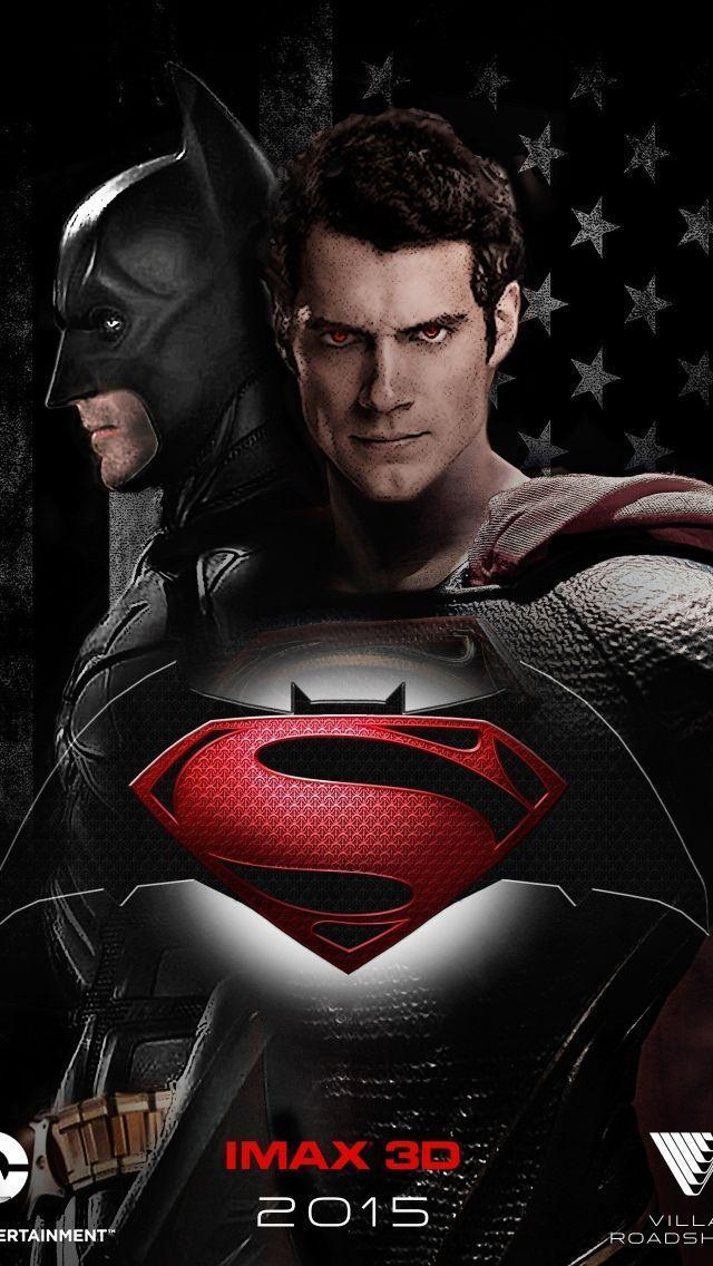 Batman Vs Superman Logo Iphone Wallpaper