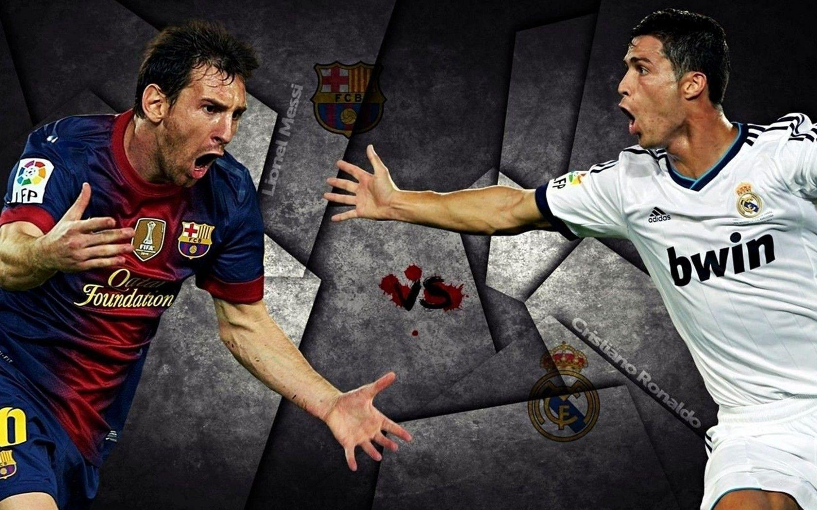 Ronaldo Vs Messi Wallpaper 2014 Messi Vs Ronald...