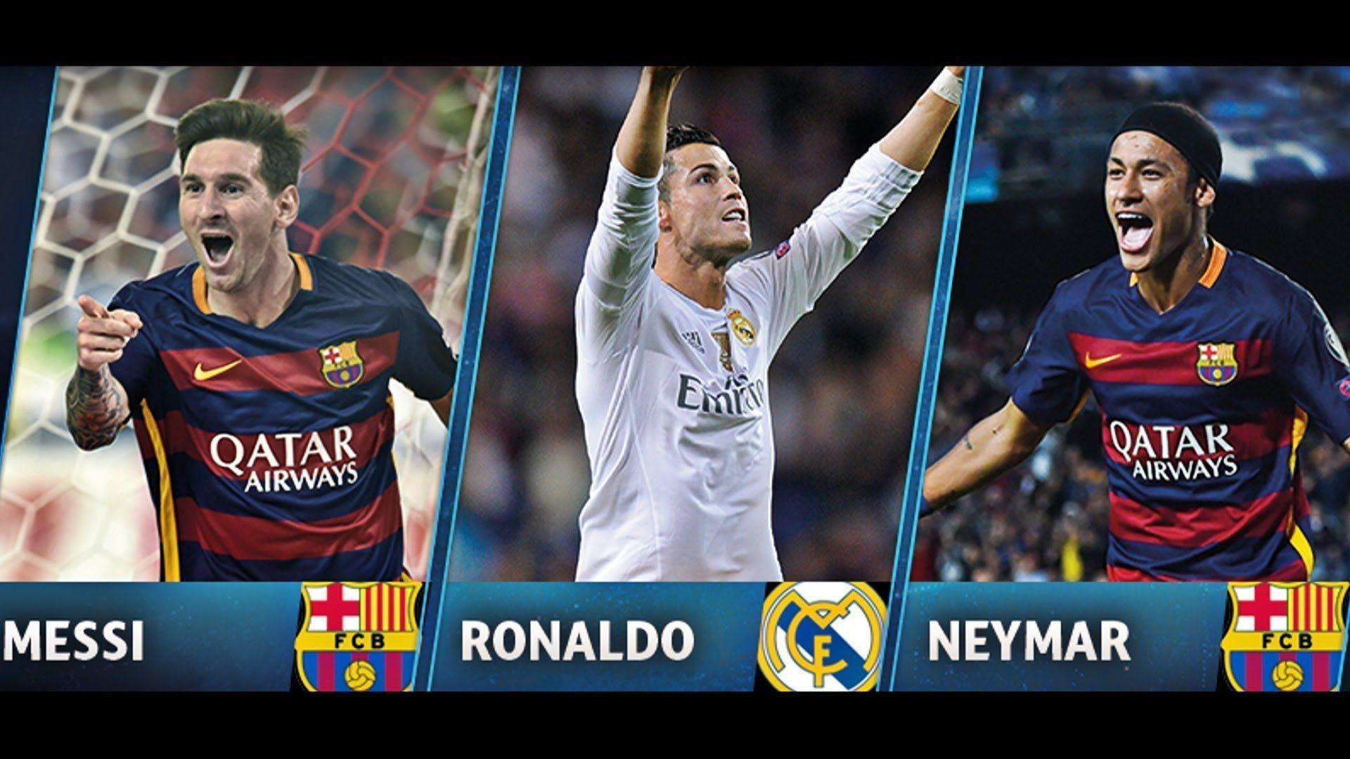 Messi Vs Ronaldo 2016 Wallpapers - Wallpaper Cave