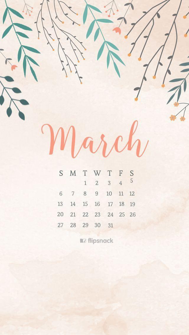 Calendar Background 2016 : Desktop wallpapers calendar march wallpaper cave