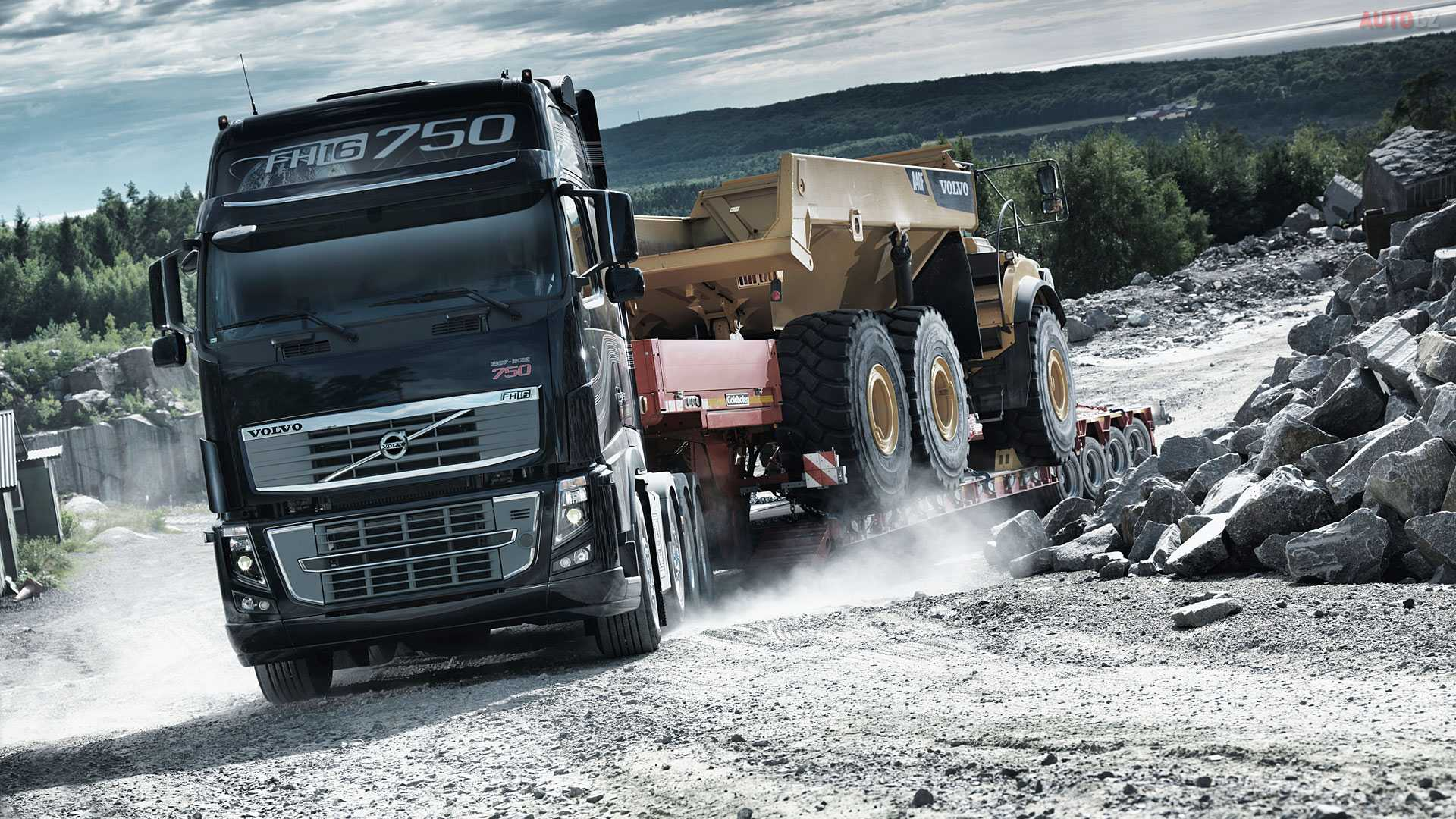 Volvo 2016 Truck Wallpapers