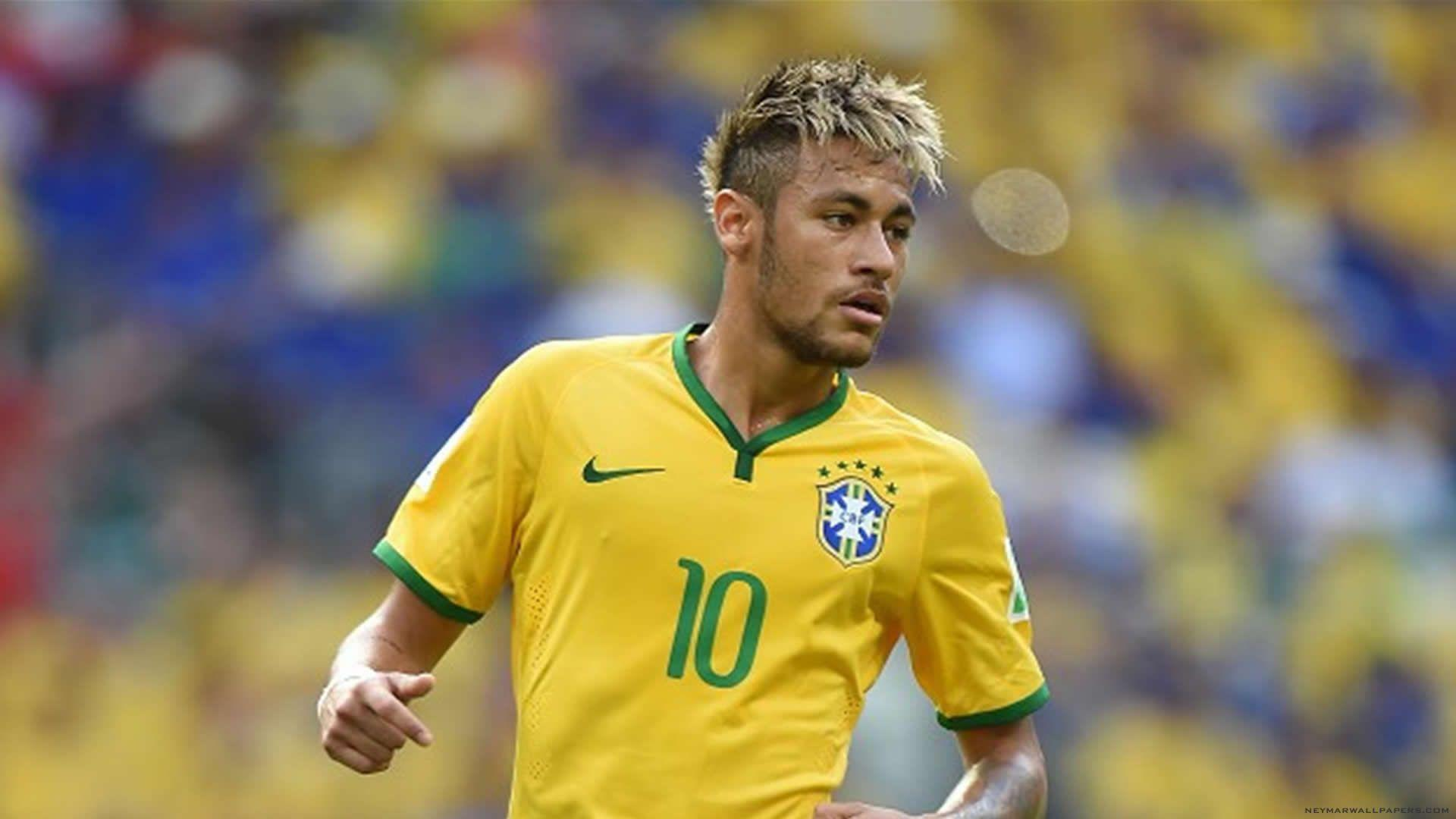 Hd Images Of Neymar: Neymar Backgrounds Brazil Flag 2016