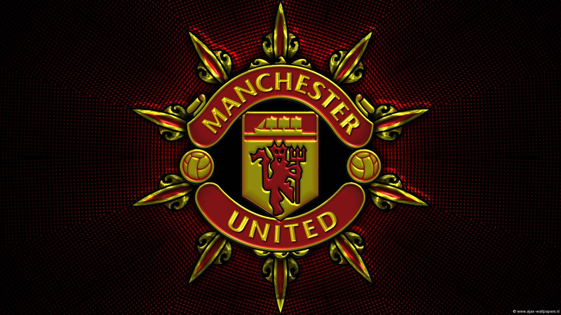 Hd wallpaper manchester united - Manchester United High Def Logo Wallpapers Wallpapers