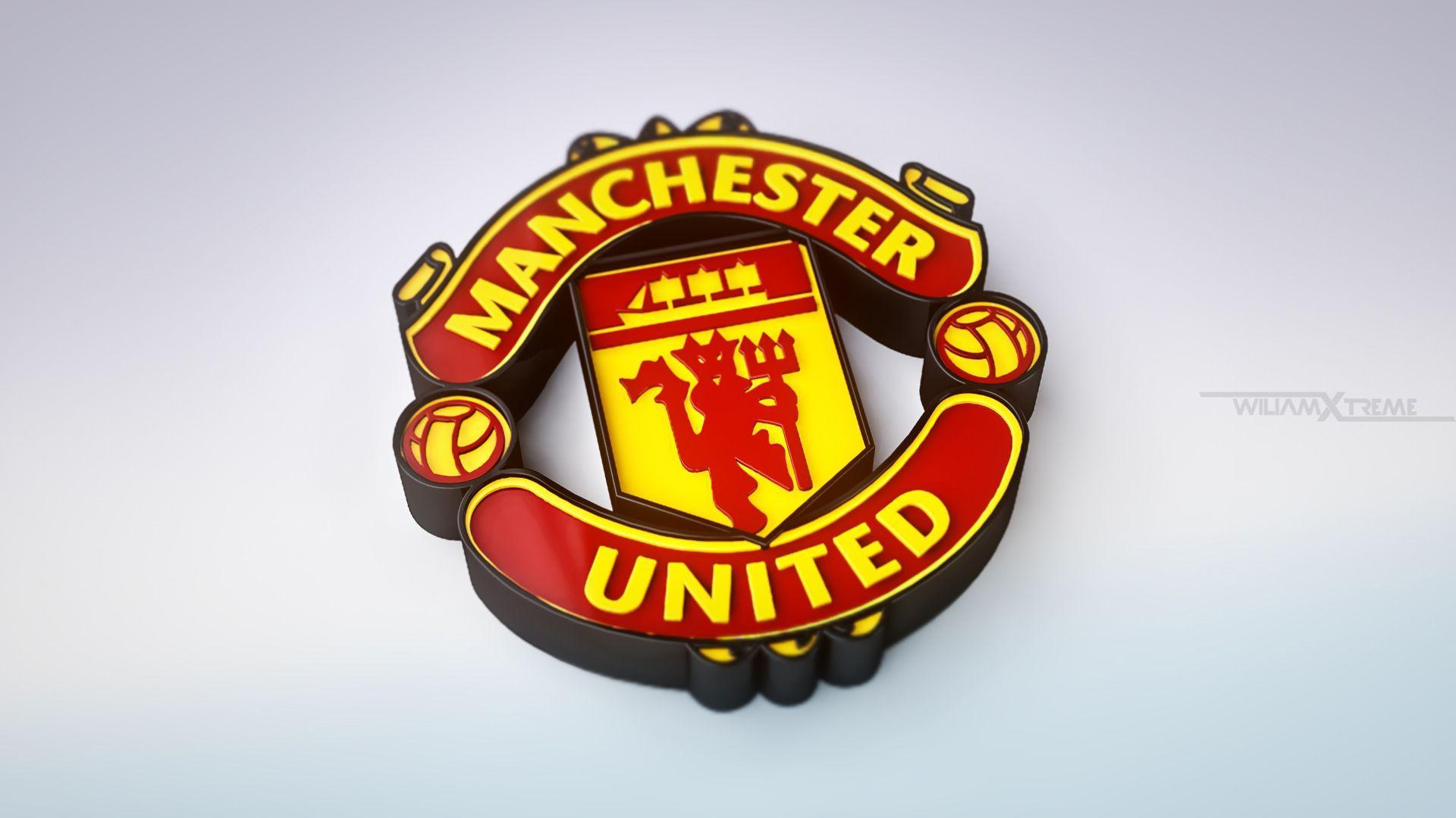 Manchester United Logo Wallpapers | Wallpapers, Backgrounds ...
