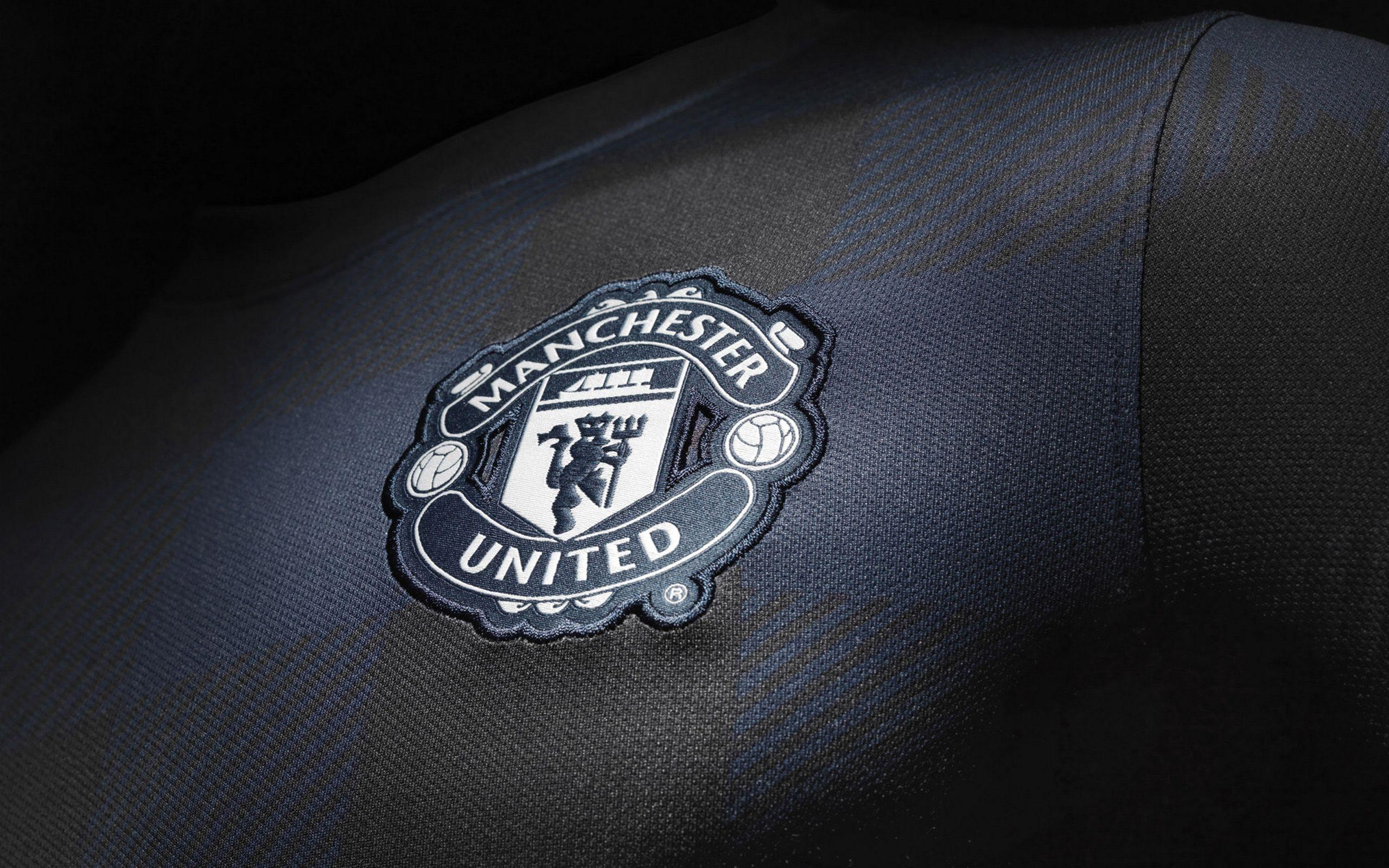 manchester united black wallpapers high definition sports download
