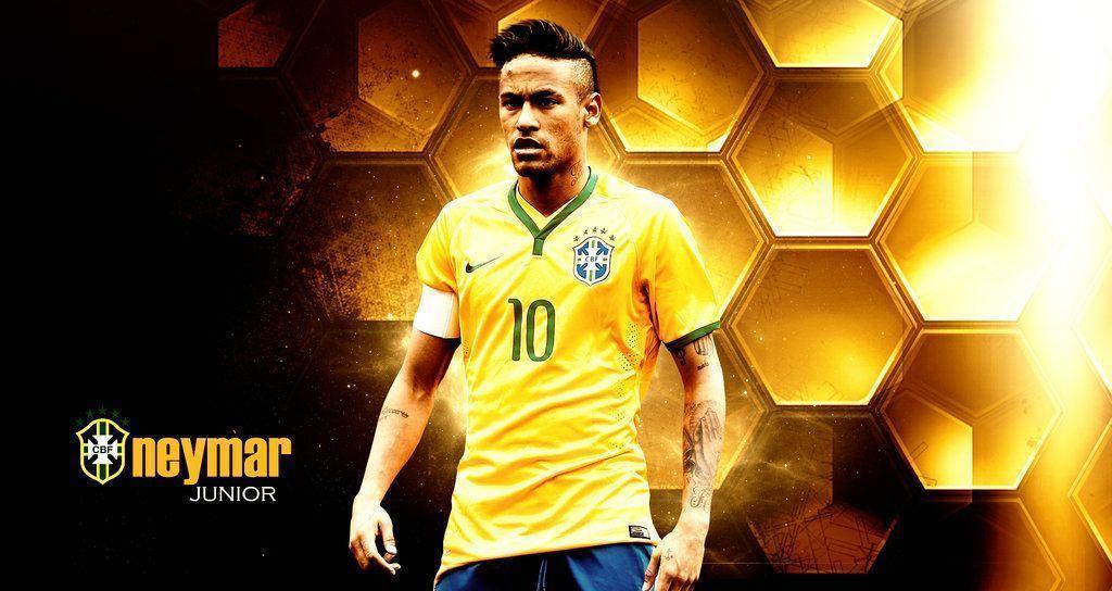 DeviantArt More Like Neymar 2015 Brazil Wallpaper By RakaGFX