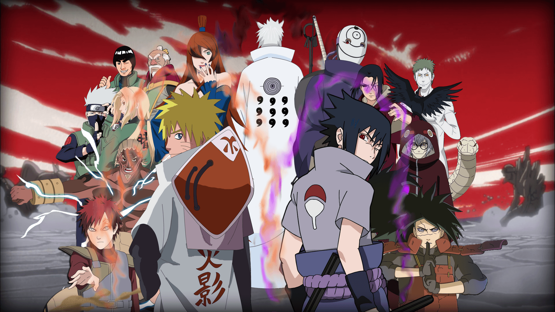 Naruto wallpapers hd 2016 wallpaper cave - Anime war wallpaper ...