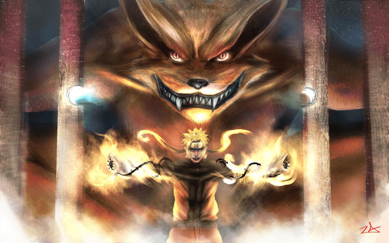 Naruto And Kurama Wallpapers Wallpaper Cave
