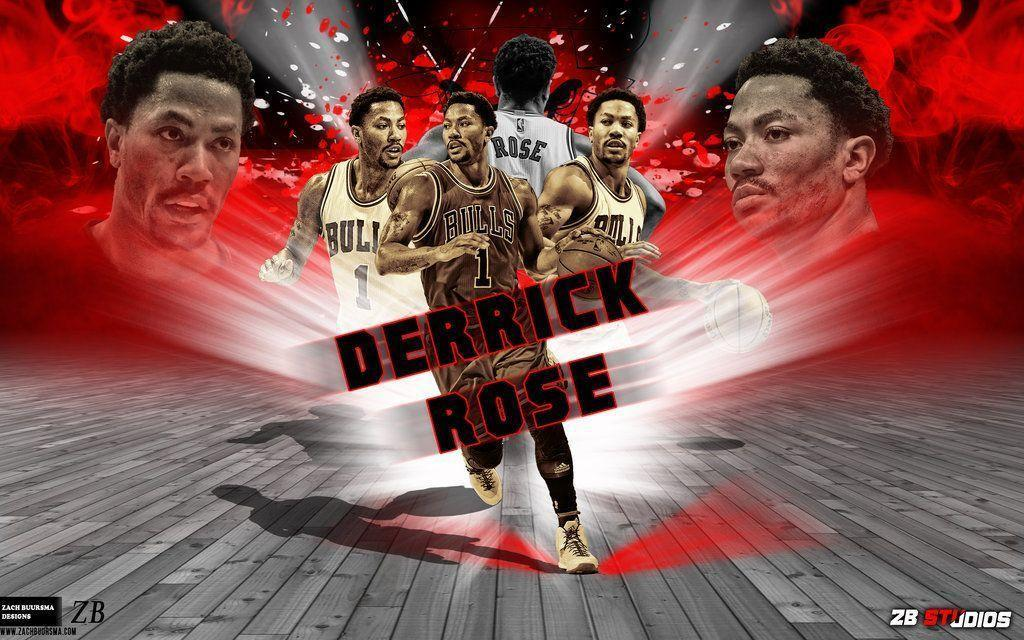 derrick rose wallpapers hd 2016 wallpaper cave