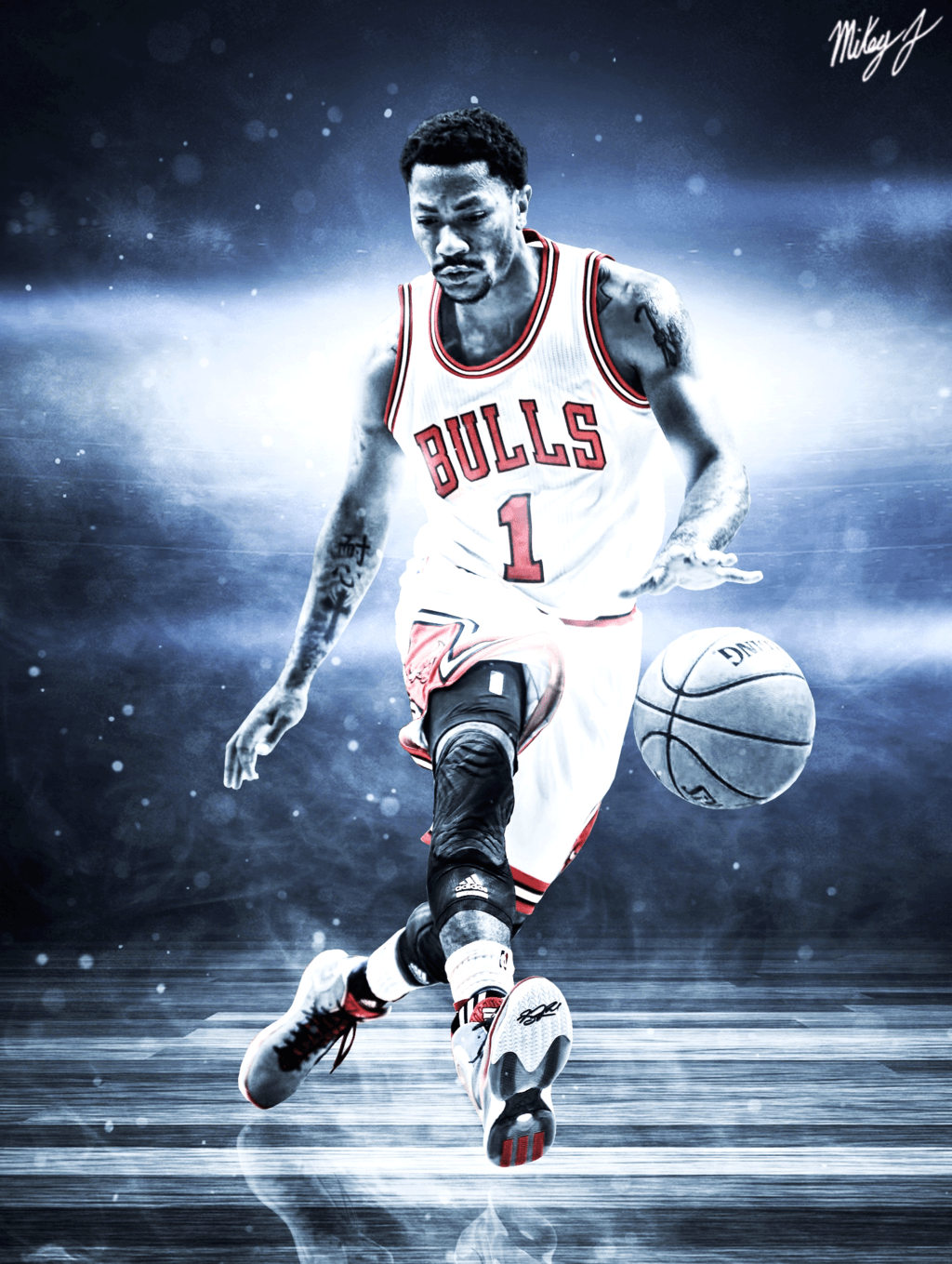 derrick rose wallpaper iphone - photo #2