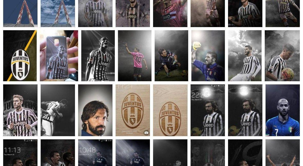 The love for Juventus made me create wallpapers for mobile phones