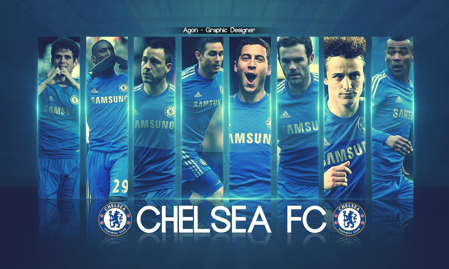 2016 Chelsea Squad Wallpaper Image Wallpaper Collections