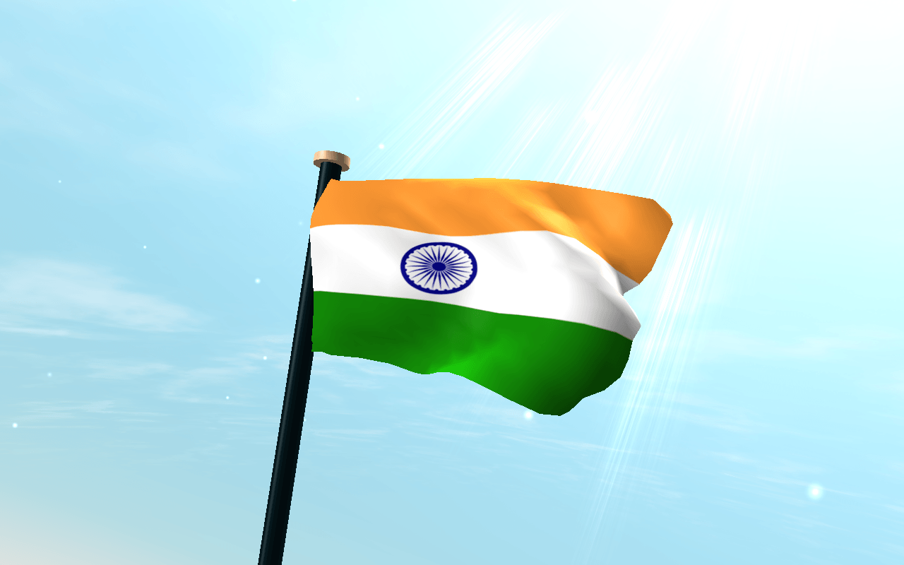 India Flag 3D Free Wallpapers
