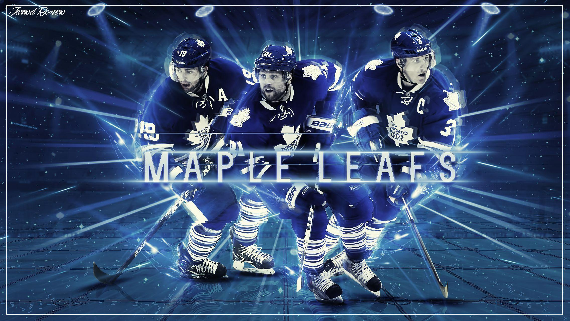 Toronto Maple Leafs Wallpapers by burstingdesigns