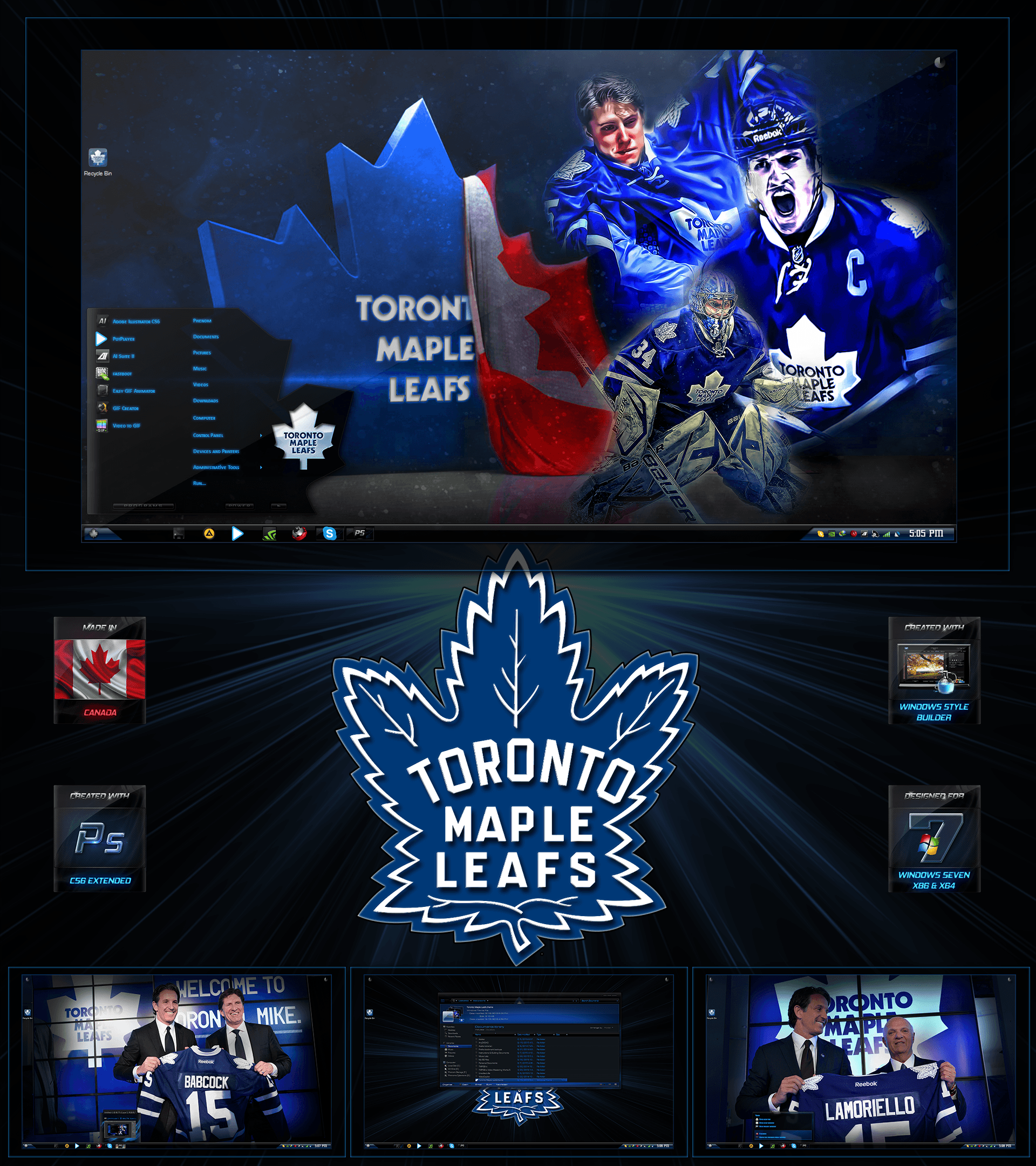 Toronto Maple Leafs Master Edition