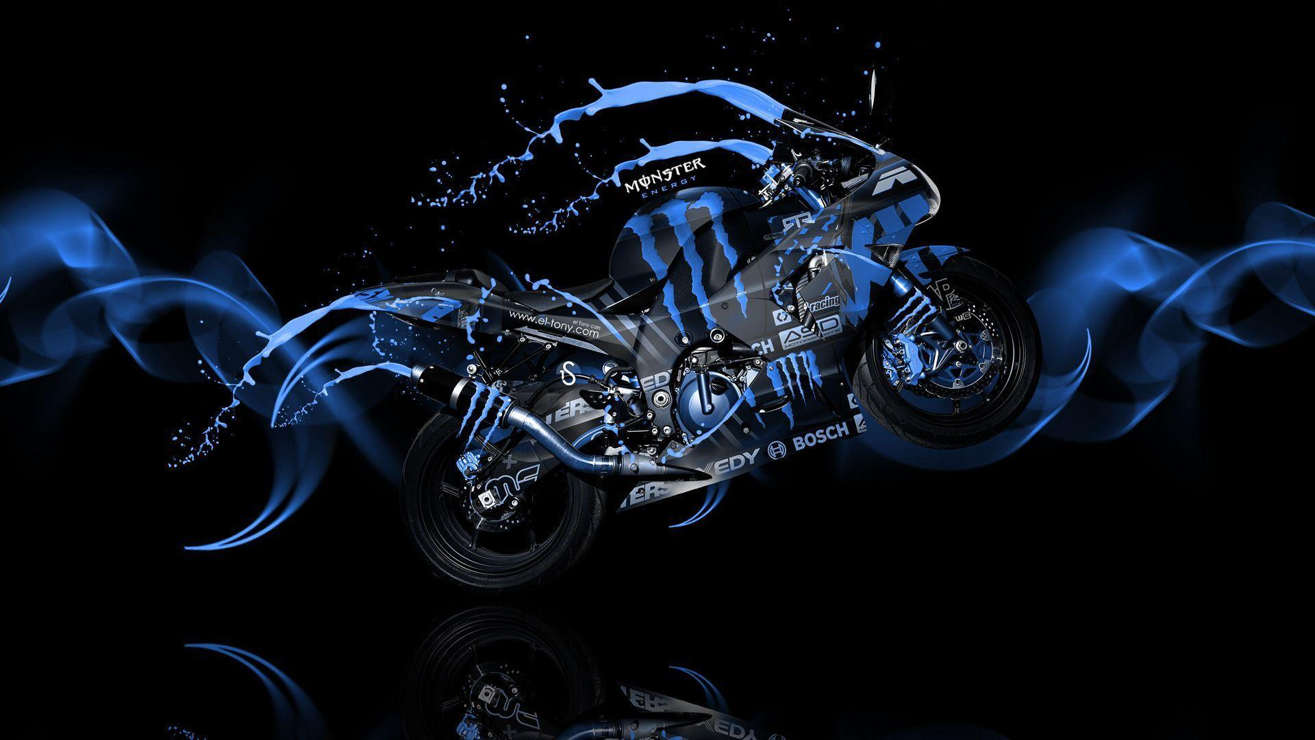 Blue Monster Energy HD Wallpapers : Brands Wallpapers