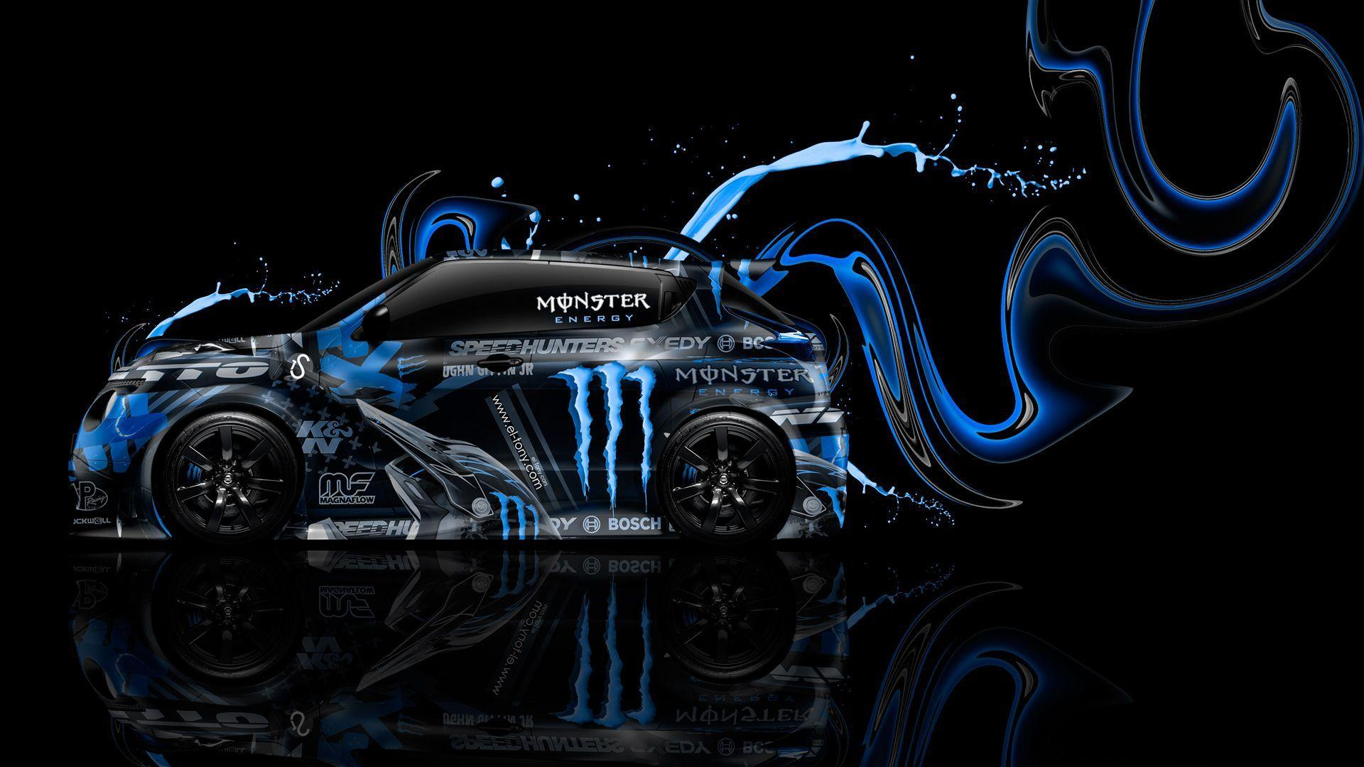 Blue Monster Energy Backgrounds Wallpapers : Brands Wallpapers
