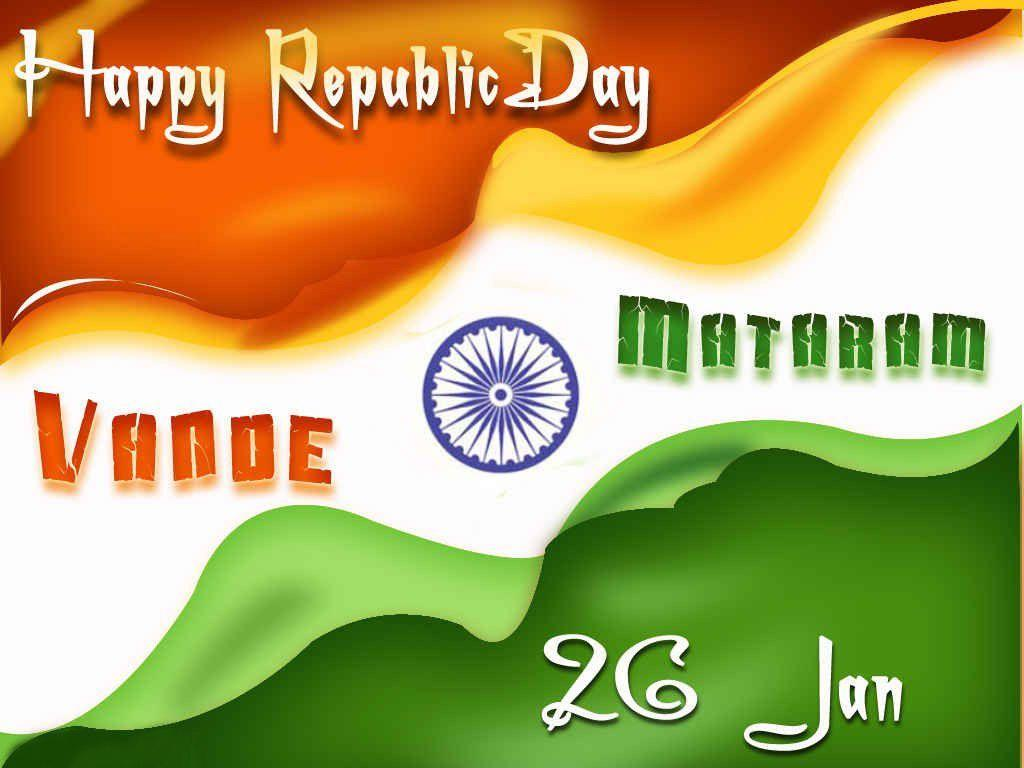 Happy Republic Day India Flag Image Pictures Wallpapers Whatsapp