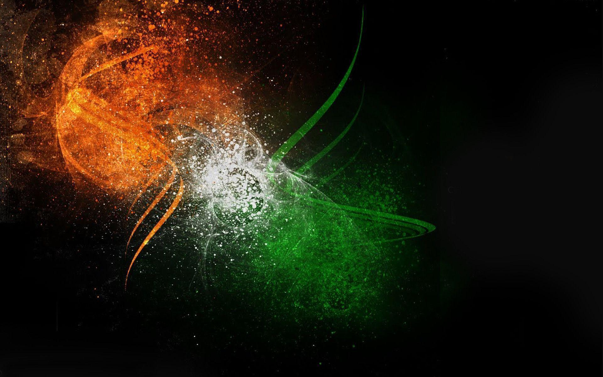Indian Flag Wallpapers Abstract