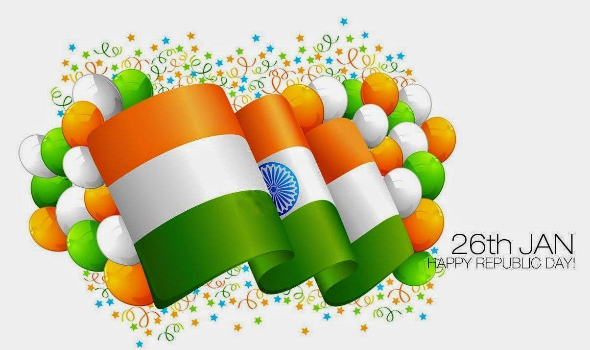 Indian Flag 3D HD 26 jan Republic Day Wallpapers